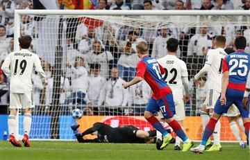 El CSKA goleó al Real Madrid