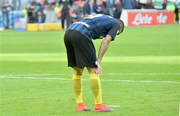Mauro Icardi se despide de la Champions