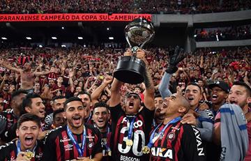 Atlético Paranaense campeón de la Copa Sudamericana