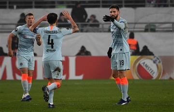 Conoce a los clasificados a 16avos de final de la Europa League
