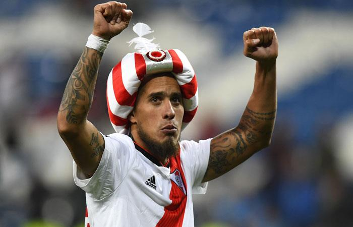 Jonatan Maidana, referente de River Plate. Foto: AFP