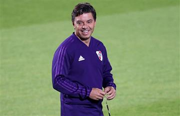 """River Plate: [VIDEO] """"Si nos dejamos llevar por la euforia, lo pasaremos mal"""", avisa Gallardo"""