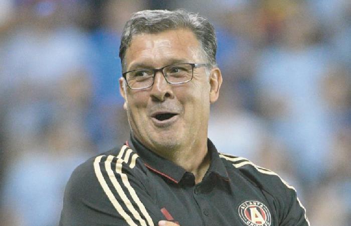 Gerardo Martino viene de ser campeón en Estados Unidos con Atlanta United. Foto: AFP