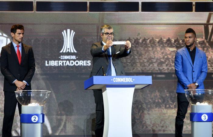 Se llevó a cabo el sorteo de la Copa Libertadores 2019. Foto: AFP