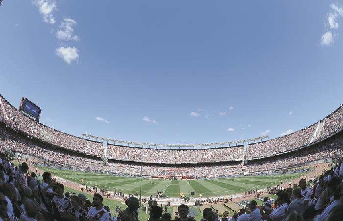 River alzará la Copa Libertadores en El Monumental. Foto: EFE