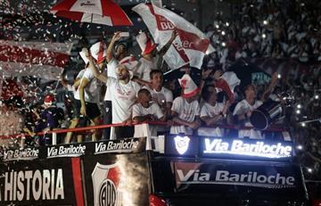 La fiesta de River y sus hinchas para celebrar la Copa Libertadores