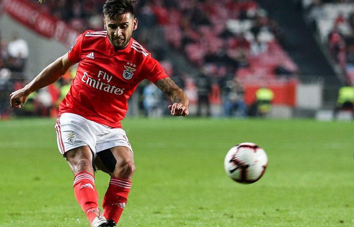 Eduardo Salvio quiere ganar todo con Benfica