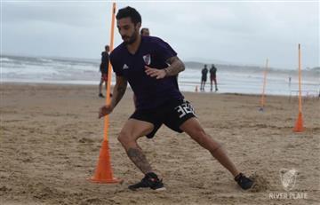 'Nacho' Scocco vuelve a lesionarse y deja en aprietos a Gallardo