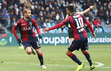 Rodrigo Palacio convirtió el golazo argentino del domingo en Italia