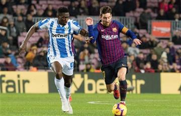Messi no fue titular y a Barcelona le costó para ganar