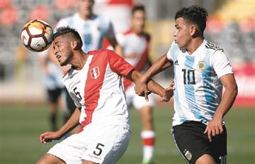 Sudamericano Sub 20: La Selección Argentina venció a Perú y logró la clasificación
