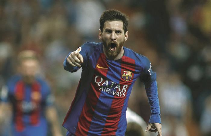 Messi se robará las miradas en el mundo artístico. Foto: AFP