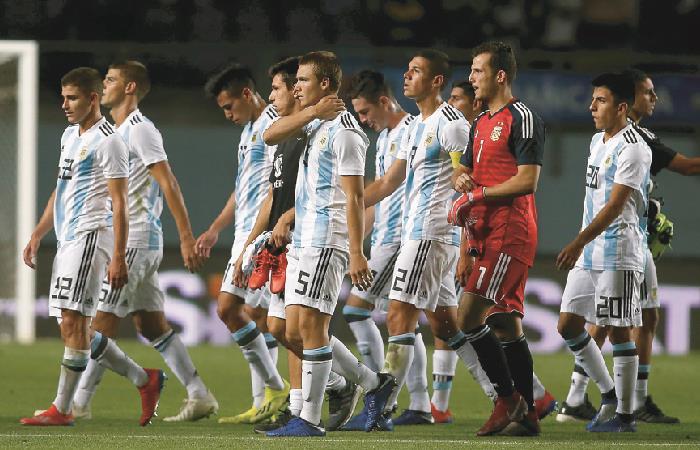 Argentina se enfrentará a Colombia en la fecha 2. Foto: EFE