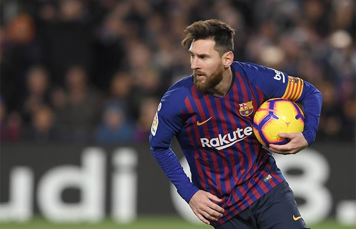 Lío ya suma 21 goles en La Liga. Foto: AFP