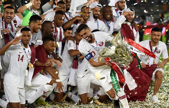 Qatar levantó su primera Copa Asia de la historia. (Foto: AFP)