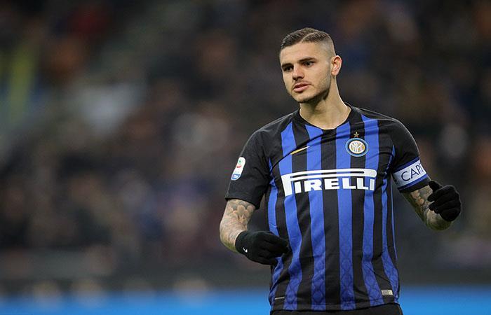 Mauro Icardi sigue sin convertir para Inter. Foto: AFP