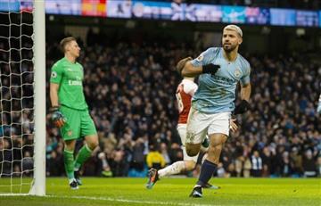 ¡Aplausos! Kun Agüero brilla con 'hattrick' y le da victoria al City sobre Arsenal