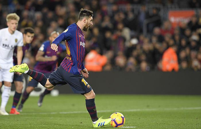 Lío Messi anotó dos goles para el conjunto blaugrana. (Foto: AFP)