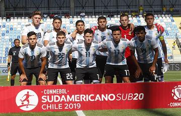 Sub 20: Argentina enfrenta a Venezuela, la sensación del torneo.