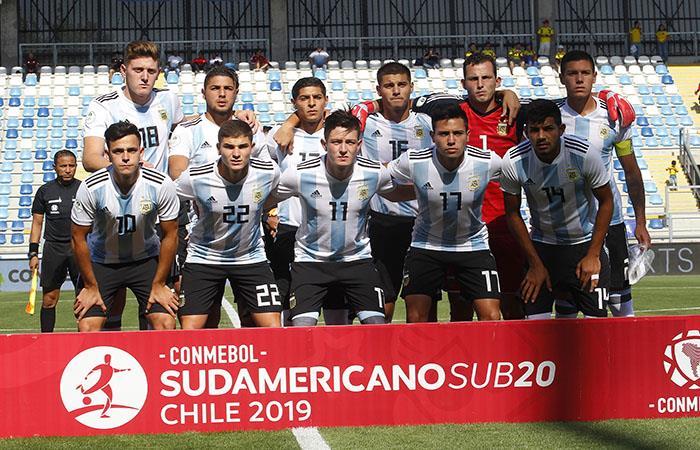 Argentina intentará dar otro paso hacia el Mundial FIFA Sub 20 de Polonia 2019 (Foto: AFP)
