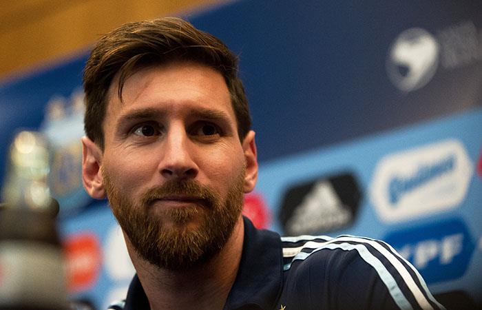Scaloni espera ver a Messi en la Copa del Rey. Foto: AFP