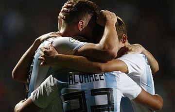 Argentina Sub-20 goleó y acaricia el Mundial