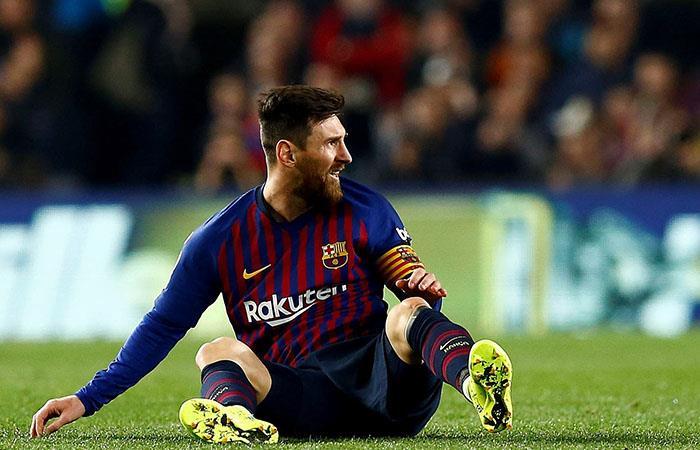 Messi, el que más recibe. Foto: EFE