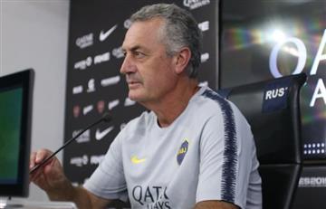 Alfaro confirmó la salida de Tevez