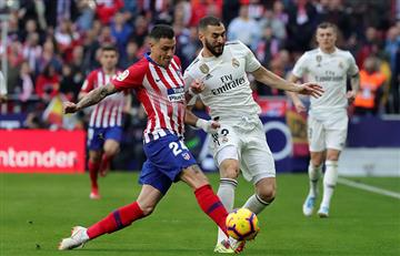 Real Madrid volteó al Atlético de Madrid