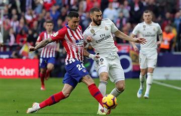 Real Madrid volteó al Atlético de Madrid
