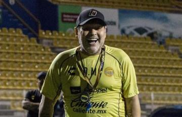 Dorados ganó con Maradona como protagonista