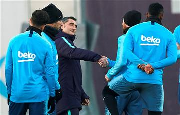 Valverde juega al misterio con Messi