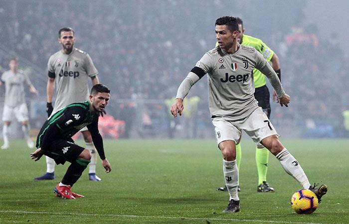 Cristiano Ronaldo mostró su contundencia habitual. Foto: EFE