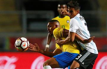 Argentina perdió ante Brasil y no pudo gritar campeón