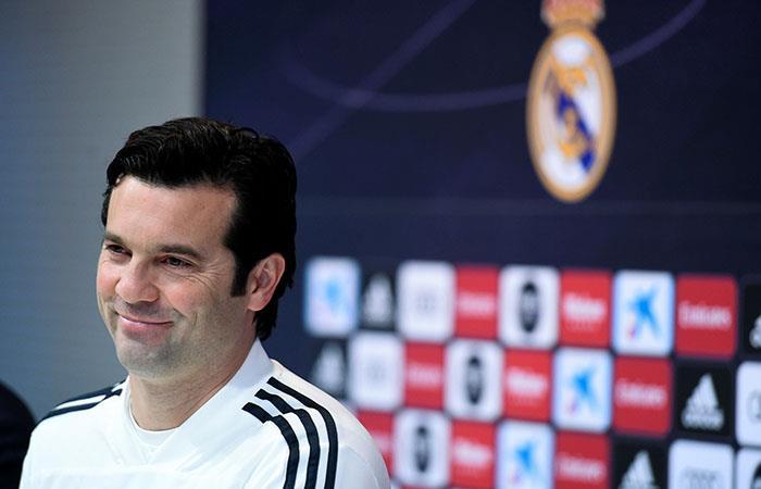 Solari, con confianza de cara al duelo del miércoles ante Ajax. Foto: EFE