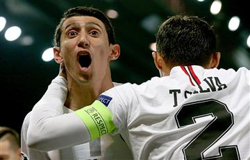 Champions League: PSG humilló a Manchester United con Di María como figura