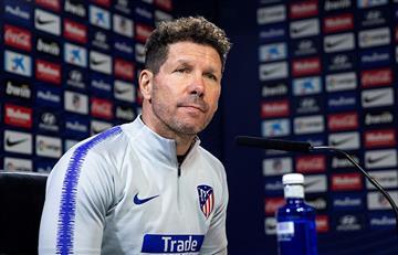 Atlético de Madrid: el cholo fue papá por quinta vez