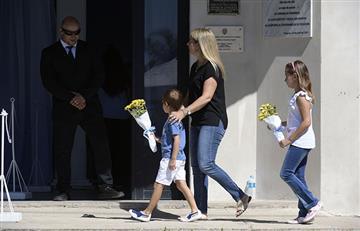 La despedida a Emiliano Sala