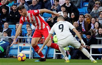 Paso en falso del Real Madrid en el Bernabéu