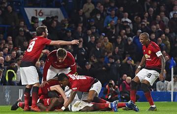 Manchester United dejó KO al Chelsea