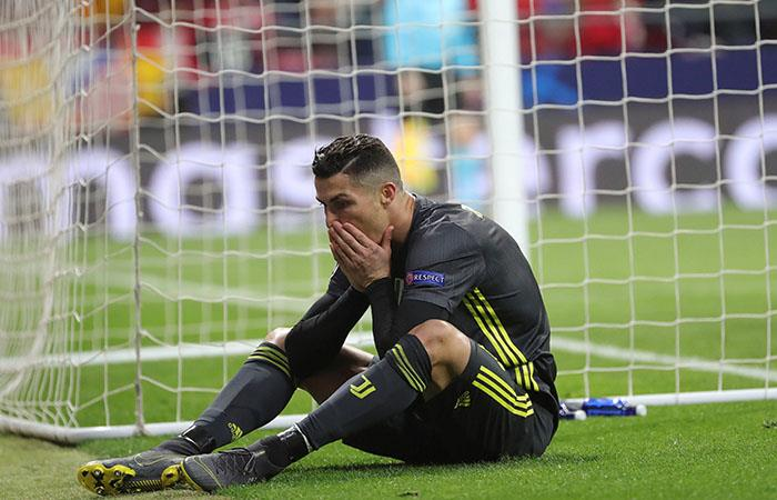 Cristiano Ronaldo, de floja actuación vs Atlético. Foto: EFE