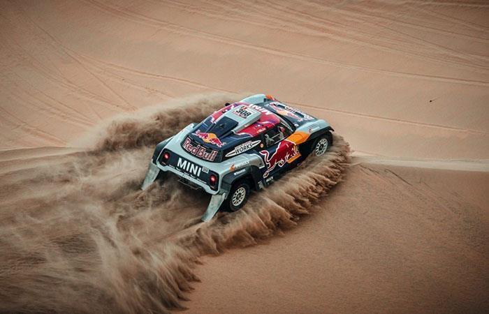 El Dakar se mudaría a oriente medio en 2020. Foto: AFP