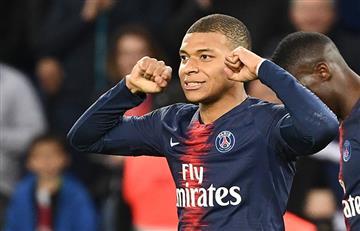 PSG goleó y Mbappé marcó un nuevo record