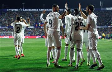Real Madrid volvió a sonreír