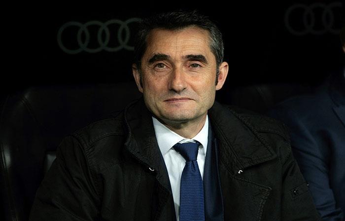 La sonrisa de Valverde tras la victoria ante Real Madrid (Foto: EFE)
