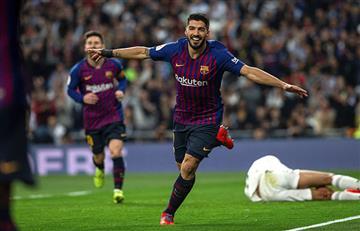 "Luis Suárez: ""Hicimos un partido redondo"""
