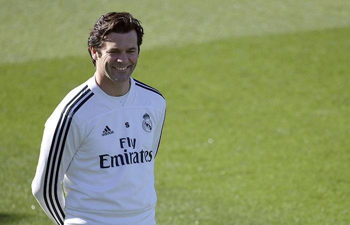 Solari recuperó la sonrisa, y va por la revancha (Foto: AFP)
