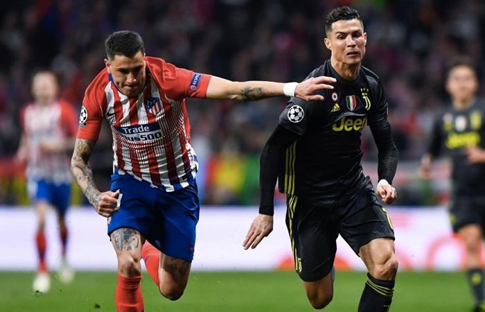 Juventus y Atlético de Madrid se verán las caras en el partido de vuelta de los octavos de final de la UEFA Champions League. Foto: AFP