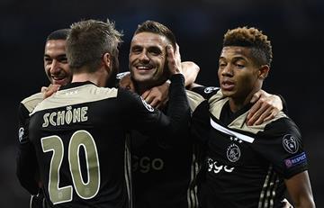 Ajax goleó al Real Madrid y lo dejó sin Champions