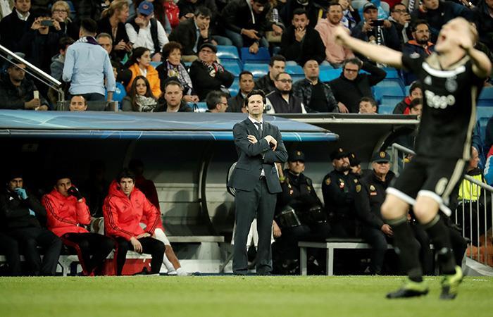 Solari, decepcionado. (Foto: AFP)